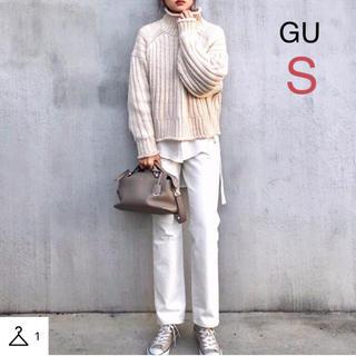 GU - GU ハイウエストストレートジーンズ S