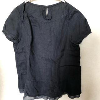 ニーム(NIMES)のNIMES リネン 半袖シャツ 麻(シャツ/ブラウス(半袖/袖なし))