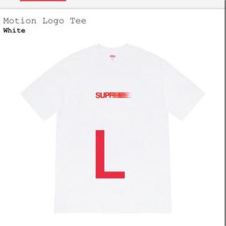 Supreme - Supreme motion logo tee モーションロゴ Lサイズ