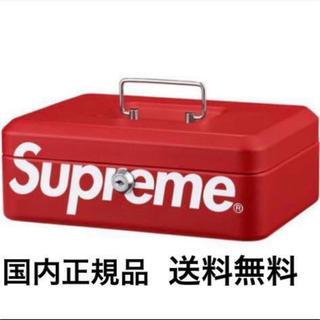 シュプリーム(Supreme)の17aw Supreme Lock Box red シュプリーム ロックボックス(その他)