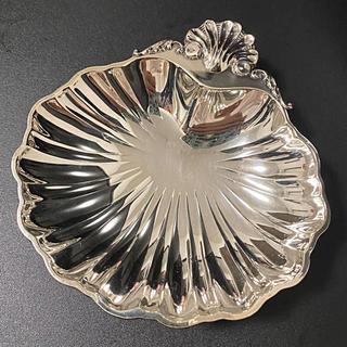 短期出品!WAKO(銀座和光) ♡ 銀仕上げ シェルディッシュ silver