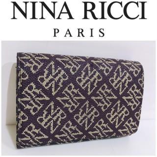 NINA RICCI - 大丸購入■ニナリッチ NINARICCI PARIS 2つ折り財布 レディース