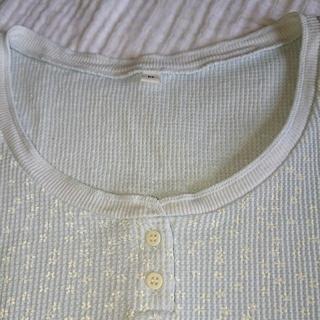 ムジルシリョウヒン(MUJI (無印良品))の無印良品 インナー ブルー 未着用品(アンダーシャツ/防寒インナー)