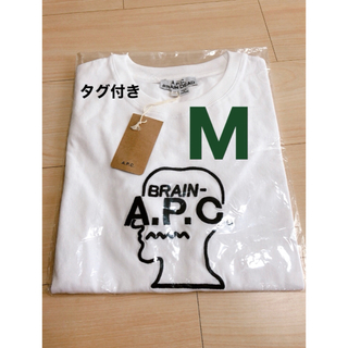 A.P.C - a.p.c. woman brain dead コラボ ロゴ tee Tシャツ