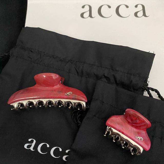 acca(アッカ)のacca バービー2020フクシア 中小クリップセット レディースのヘアアクセサリー(バレッタ/ヘアクリップ)の商品写真