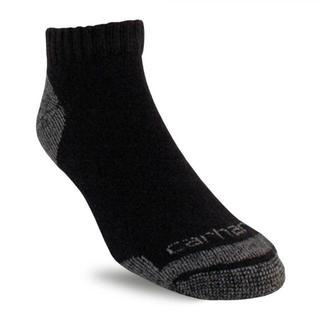 カーハート(carhartt)のカーハート ローカット ソックス 黒 3組セット ●新品 靴下 Carhartt(ソックス)