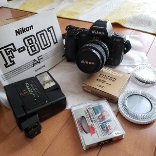 ニコン(Nikon)の【Nikon】F801・AF  フィルム一眼レフカメラ(フィルムカメラ)