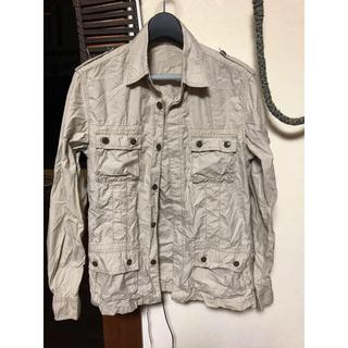 アバハウス(ABAHOUSE)のアバハウス シワ加工シャツ 薄手ジャケットにもなります。(シャツ)