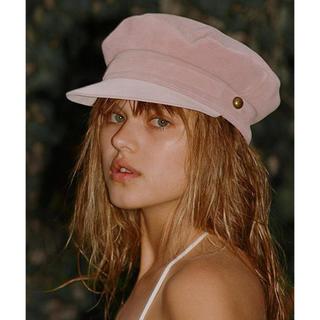 ルームサンマルロクコンテンポラリー(room306 CONTEMPORARY)のroom306セレクト♢Lack of Color♢cap♢baby pink(ハット)