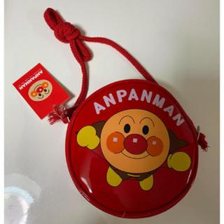 アンパンマン(アンパンマン)の【新品】アンパンマン 丸ポシェット 赤(ポシェット)