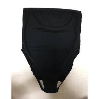 ムジルシリョウヒン(MUJI (無印良品))の無印良品 コットンマタニティショーツ M〜L ブラック 未使用(マタニティ下着)