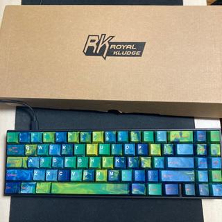 RK71 青軸 ROYALKLUDGE キーボード ゲーミングキーボード
