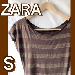ザラ(ZARA)の激安!美品!ZARAボーダーTシャツ(Tシャツ(半袖/袖なし))