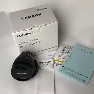 タムロン(TAMRON)のTAMRON 24mm F2.8 Di Ⅲ OSD M1:2(レンズ(単焦点))