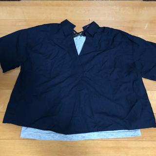 シマムラ(しまむら)の桜香様 専用 大きいサイズ プルオーバーシャツ&キャミソール  4L (アンサンブル)