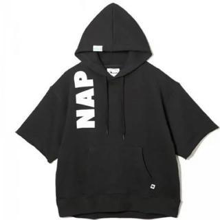 AAA - Naptime. 五分袖パーカー ブラック Mサイズ