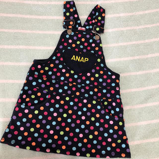 アナップキッズ(ANAP Kids)のANAP 110cm ジャンスカ(ワンピース)
