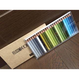 フェリシモ(FELISSIMO)の新品 FRLISSIOMO 色鉛筆 25色セット(色鉛筆)