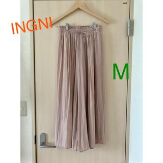INGNI - INGNI ヴィンテージサテン イージースカンツ