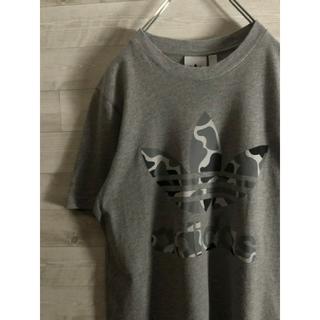 adidas - adidas アディダス ビッグロゴ  Tシャツ