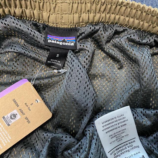 patagonia(パタゴニア)の未使用 patagonia バギーズロング 7インチ Sサイズ メンズのパンツ(ショートパンツ)の商品写真