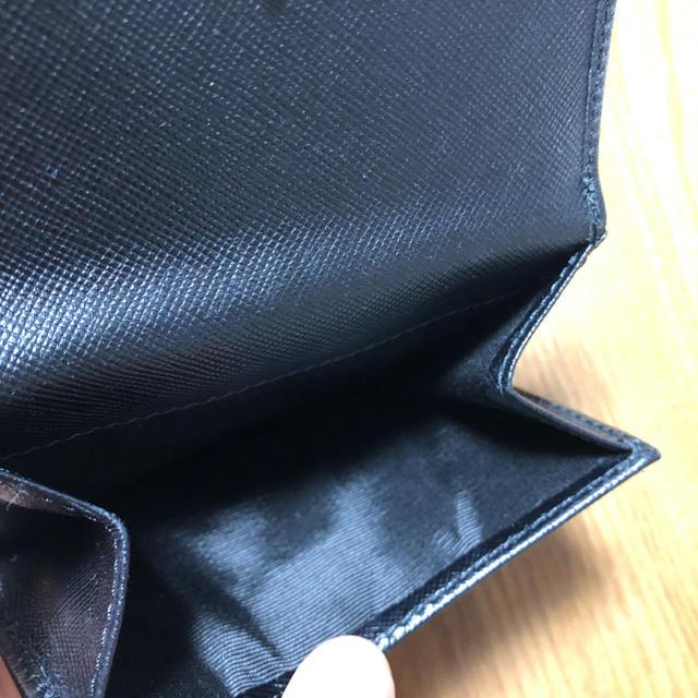 Salvatore Ferragamo(サルヴァトーレフェラガモ)のフェラガモ ガンチーニ 二つ折り財布 黒 レディースのファッション小物(財布)の商品写真