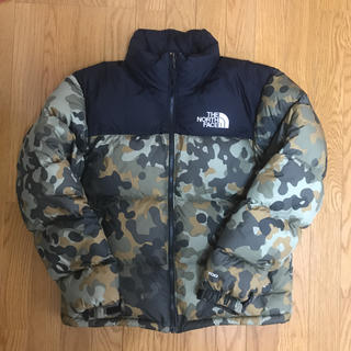 THE NORTH FACE - THE NORTH FACE US限定 ヌプシダウン カモ柄