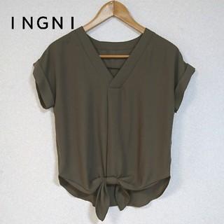INGNI - INGNI プルオーバーブラウス