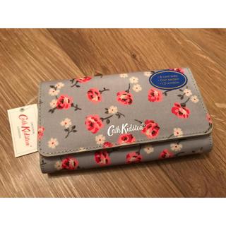 Cath Kidston - キャスキッドソン   財布 ウォレット タグ付き 新品未使用 花柄 ブルー 水色