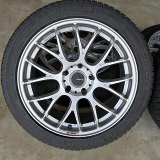 BMW F30系3シリーズ用 RAYS18インチホイール+スタッドレス 4本