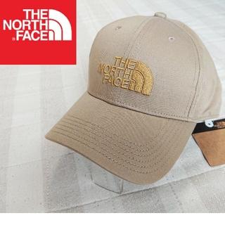THE NORTH FACE - 新品 ノースフェイス キャップ 帽子 ベージュ