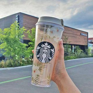 Starbucks Coffee - 韓国スタバ★サマーシーズン2★限定★フローランスホワイトハイビスカスタンブラー