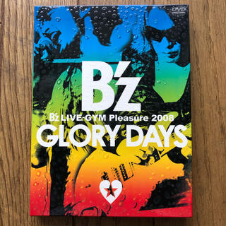 B'z DVD 「Pleasure 2008 GLORY DAYS」