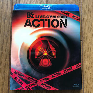 B'z Blu-ray 「B'z LIVE-GYM 2008 ACTION」