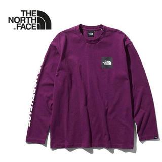 ザノースフェイス(THE NORTH FACE)のTHE NORTH FACE ノースフェイス L/S スクエアロゴ Tシャツ(Tシャツ/カットソー(七分/長袖))