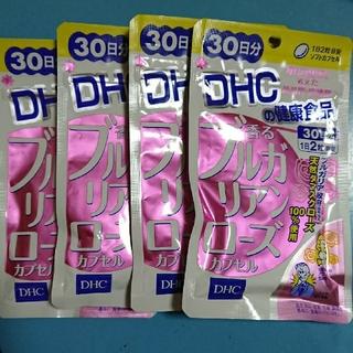 ディーエイチシー(DHC)のDHC 香るブルガリアンローズ 30日分 4袋セット(口臭防止/エチケット用品)