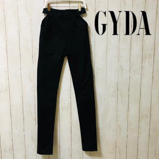 GYDA - GYDAジェイダハイウエストパンツ黒