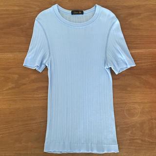 ドゥロワー(Drawer)のDrawer コットンリブTシャツ(Tシャツ(半袖/袖なし))