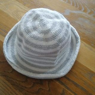 アニエスベー(agnes b.)のアニエスベー キッズ 帽子 サイズ3 ベビー ボーダー(帽子)