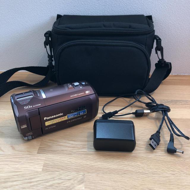 Panasonic(パナソニック)のパナソニック HC-V750M ビデオカメラ スマホ/家電/カメラのカメラ(ビデオカメラ)の商品写真