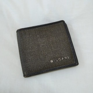 ブルガリ(BVLGARI)の【正規品】ブルガリ 折財布 カーキ(長財布)