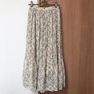INGNI - INGNI 花柄ロングスカート