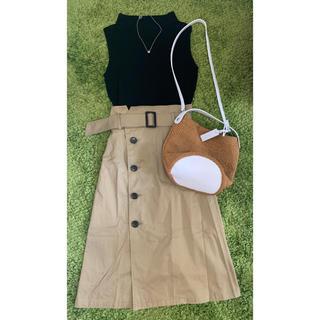 green label relaxing - 上品可愛い★グリーンレーベルトレンチ風スカート