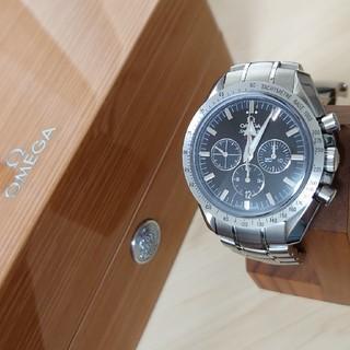 オメガ(OMEGA)のオメガ omega スピードマスターブロードアロー 50thモデル 中古美品(腕時計(アナログ))