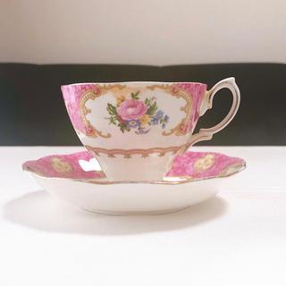 ロイヤルアルバート(ROYAL ALBERT)のコーヒーカップ&ソーサー【値下げ中】(グラス/カップ)