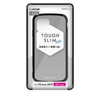 ELECOM - iPhone 11用TOUGH SLIM LITEケース グレー