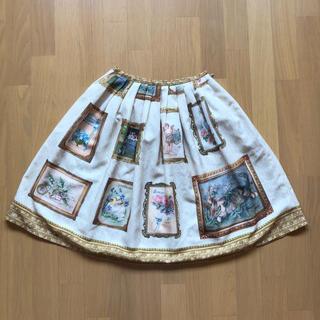 Innocent World - 額縁柄スカート
