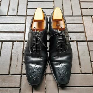 Salvatore Ferragamo - フェラガモ メンズ 革靴 ブラック ドレスシューズ