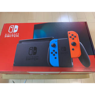 Nintendo Switch - 【新品未使用未開封】Nintendo Switch 本体 ネオンブルー