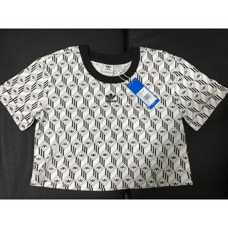 adidas - 新品未使用 adidas アディダスオリジナルス クロップド半袖Tシャツ
